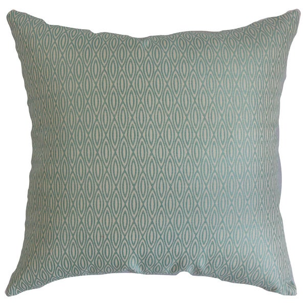 Whitney Geometric Euro Sham Blue