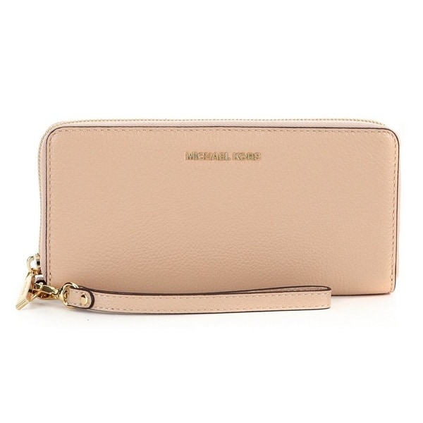 Michael Kors Mercer Travel Continental Oyster Travel Pouch