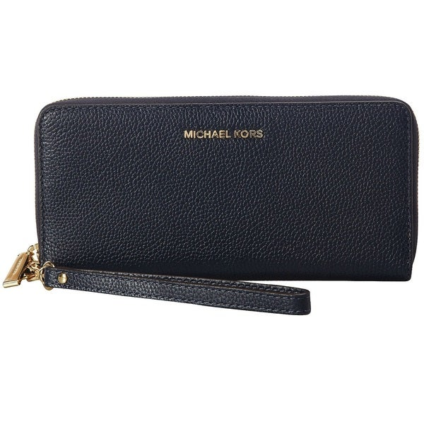 Michael Kors Mercer Travel Continental Admiral Blue Travel Pouch