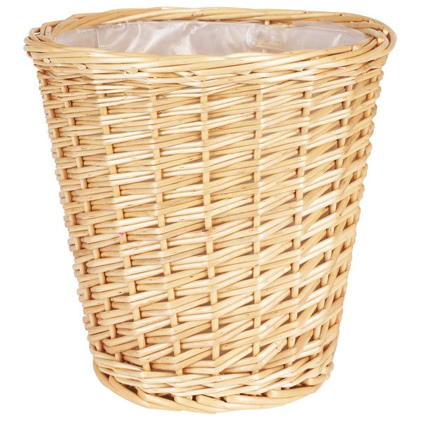 Small Willow Waste Basket