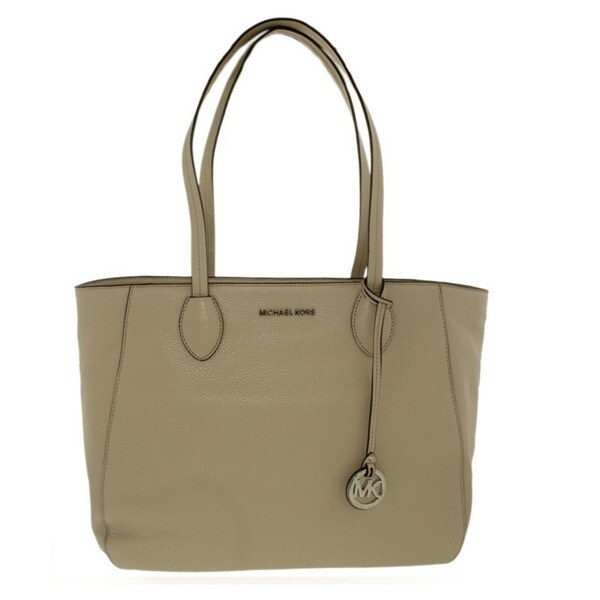Michael Kors Ani North/ South Cement Top Zip Tote Bag