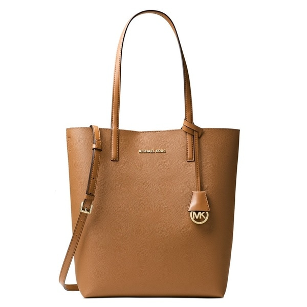 Michael Kors Hayley Large Acorn/ Oyster Convertible Tote Bag