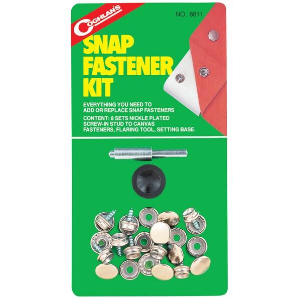 Coghlans 8811 Snap Fastener Kit 8-count