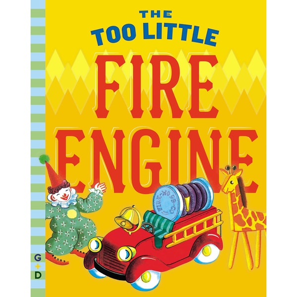 Penguin 48217 The Too Little Fire Engine Children's Book 21298000