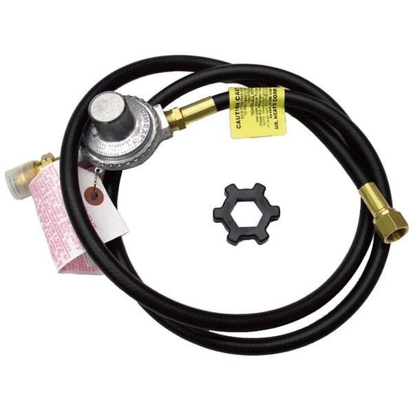Mr Heater F273071 5' Propane Hose With Regulator