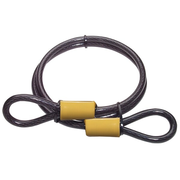 Master Lock 85DPF 4' Galvanized Steel Cable With Loop Ends