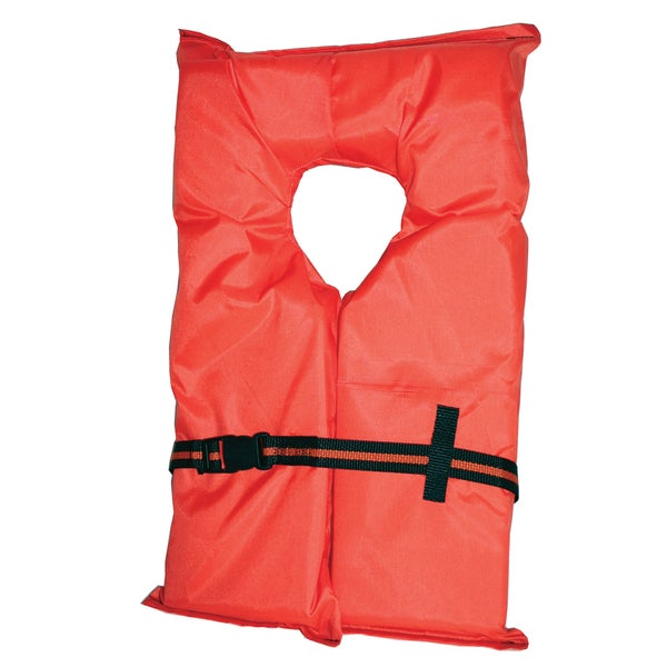 Kent Water Sports Large Orange Adult Type II Life Vest