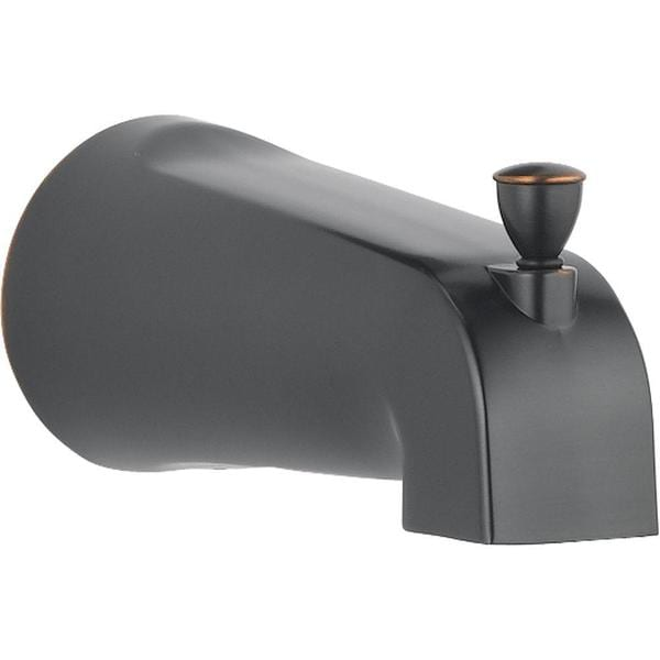 Delta Foundations 5-3/8 in. Metal Pull-Up Diverter Tub Spout in Oil Rubbed Bronze RP61357OB