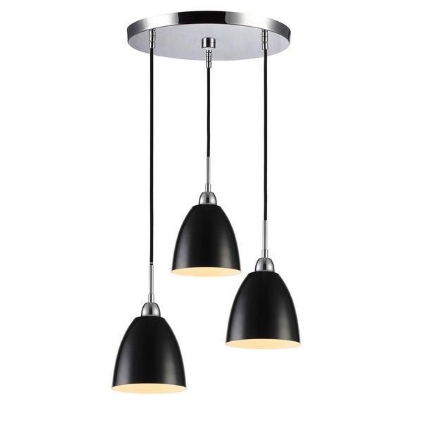 Woodbridge Lighting 15324 Vento Steel Multi-pendant Cluster Light