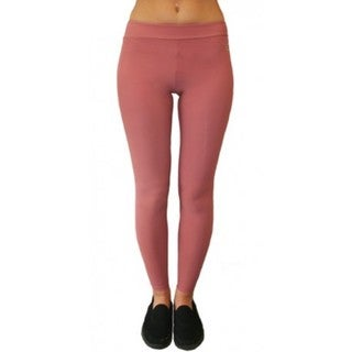Proskins Marsala Wine Slim Moisturizing Compression Leggings