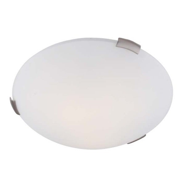 Ariel Opal Glass Ceiling Mount Light