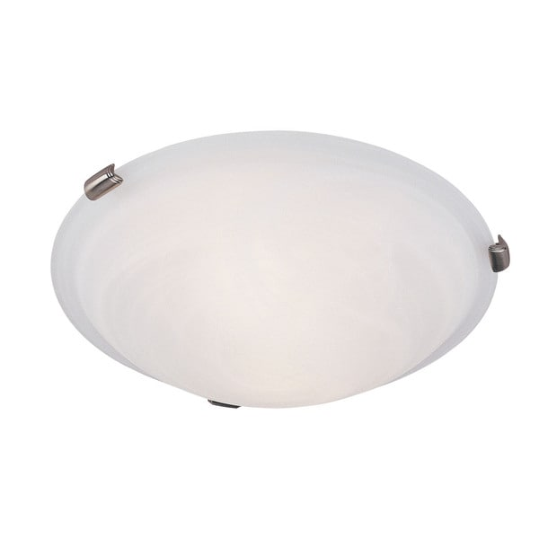 Oasis Glass/Stee Ceiling Mount Light
