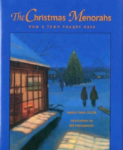 The Christmas Menorahs: How a Town Fought Hate (Paperback)