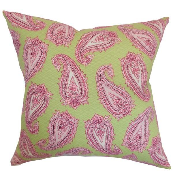 Wasum Paisley Pink Green