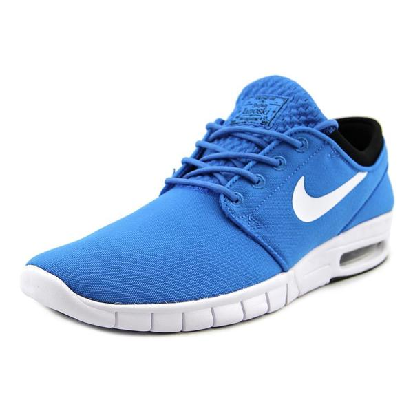 Nike Men's Stefan Janoski Max Blue Mesh Athletic Shoes 21309050