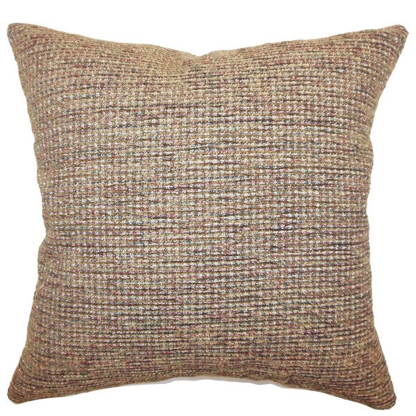 Balin Weave Euro Sham Brown
