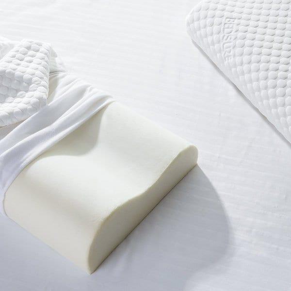 Bedsure Memory Foam Contour Pillow