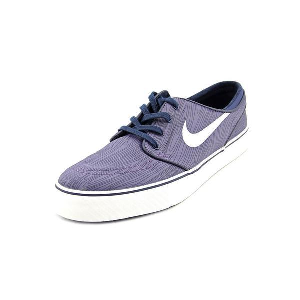 Nike Men's Stefan Janoski EXP PRT Blue Nylon Athletic Shoes