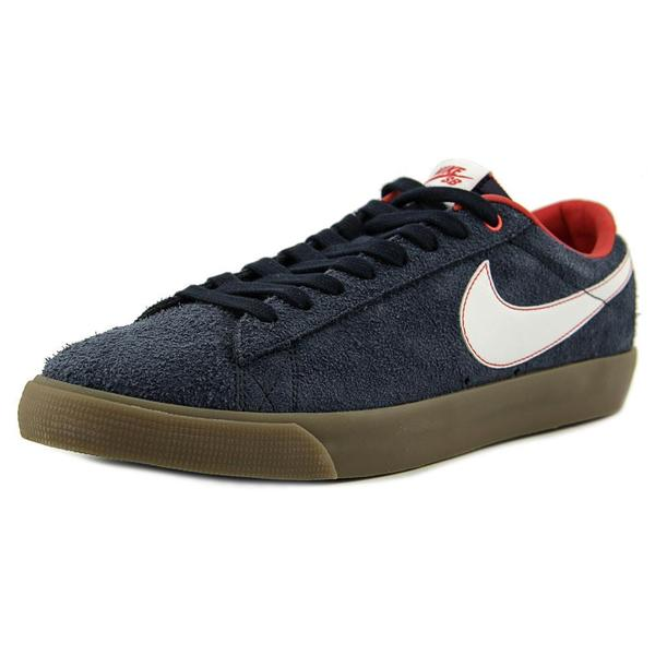 Nike Men's Blazer Low Gt Blue Synthetic Athletic Shoe