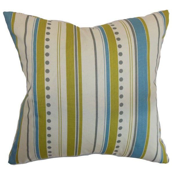 Hearst Stripes Euro Sham Summerland Natural