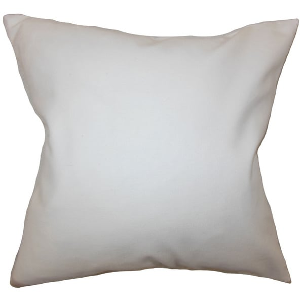 Mabel Solid Euro Sham White