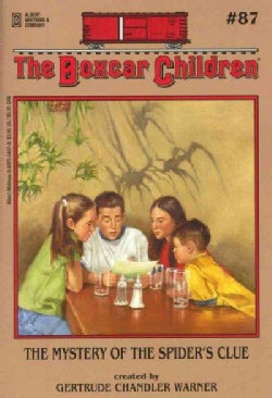 The Mystery of the Spider's Clue (Paperback)