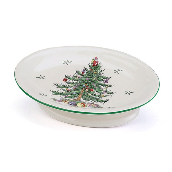 Spode Christmas Tree Holiday Themed Soap Dish