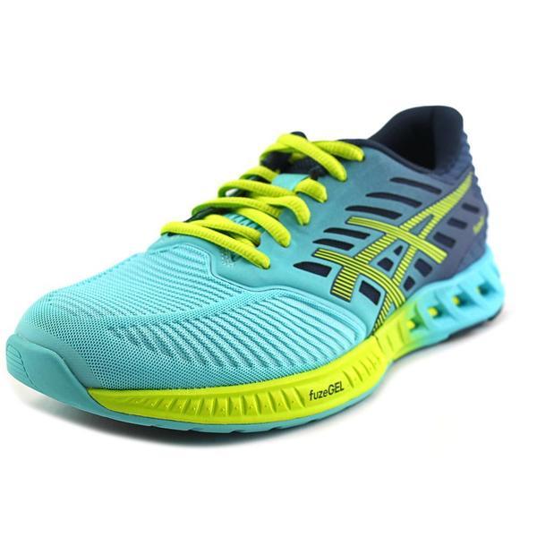 Asics Men's FuzeX Blue Mesh Athletic Shoes