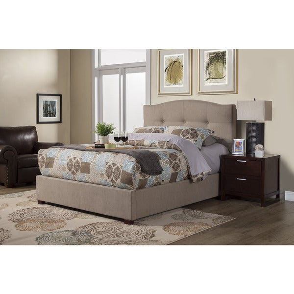 Alpine Amanda Tufted Upholstered Bed