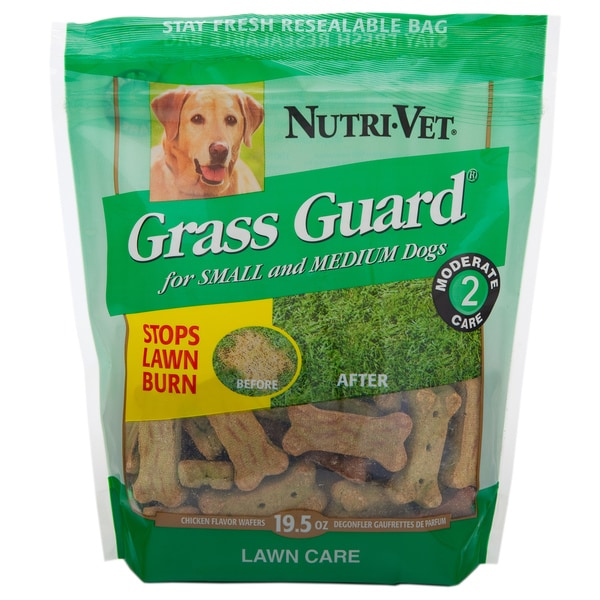 Nutri Vet Nutritionals 53678-0 19.5 Oz Grass Guard Wafers For Small & Medium Dogs