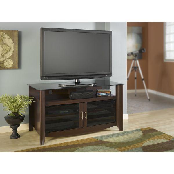Aero Andora Brown Finish TV Stand