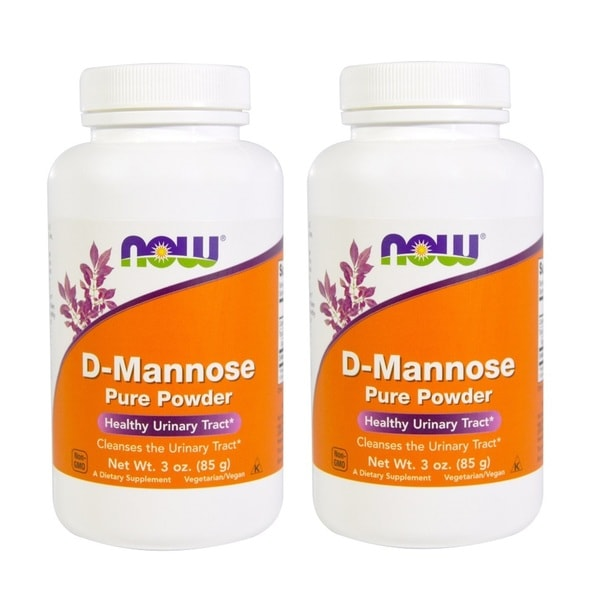 Now Foods D-Mannose 3-ounce Pure Powder