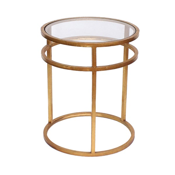 Teton Home Minimalist Gold Coffee Table - Af-118