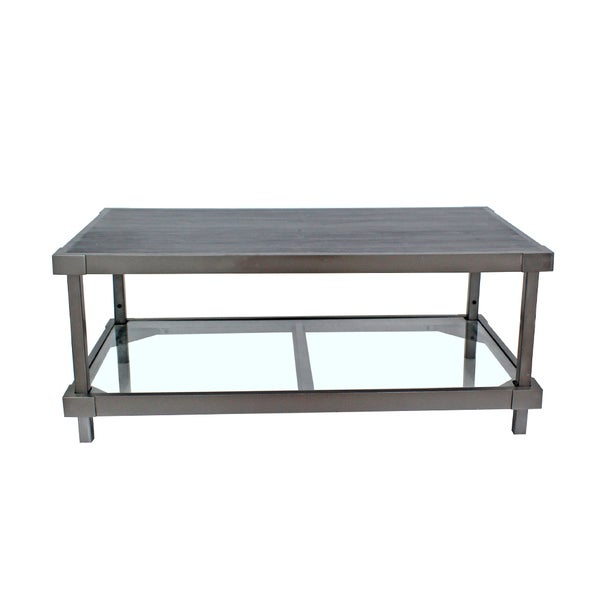 Teton Home Industrial Hall Coffee Table - Af-114