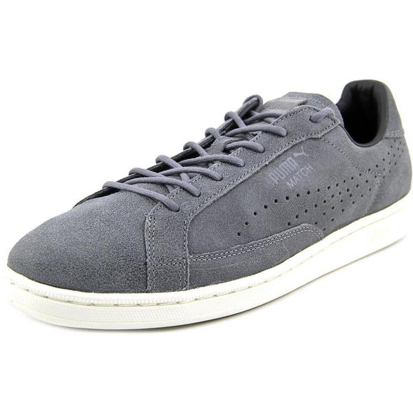 Puma Men's 'Match 74 Citi Series' Grey Leather Athletic Shoes