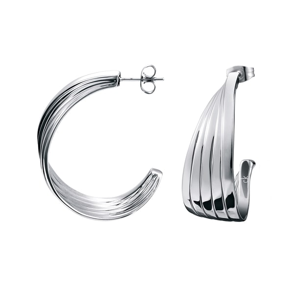 Calvin Klein Whisper Stainless Steel Women's Fashion Earring 21314256