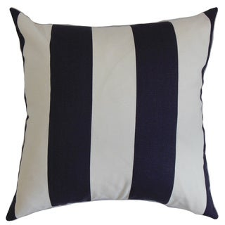 Leesburg Stripes Euro Sham Blue White