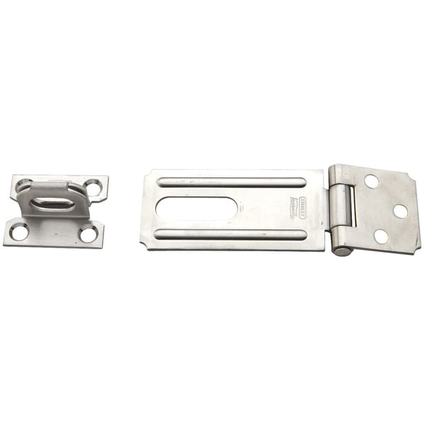 "Stanley S850-578 3-1/4"" Stainless Steel Safety Hasp"