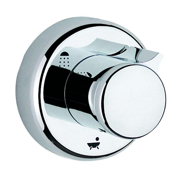 Grohe Relexa 1-Handle 5-Port Diverter Valve Trim Kit in Starlight Chrome (Valve Not Included)