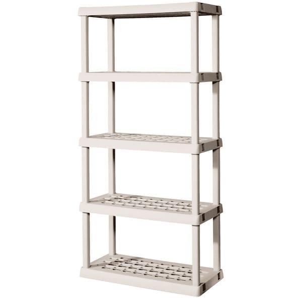 Sterilite 01558501 5 Shelf Shelving Unit