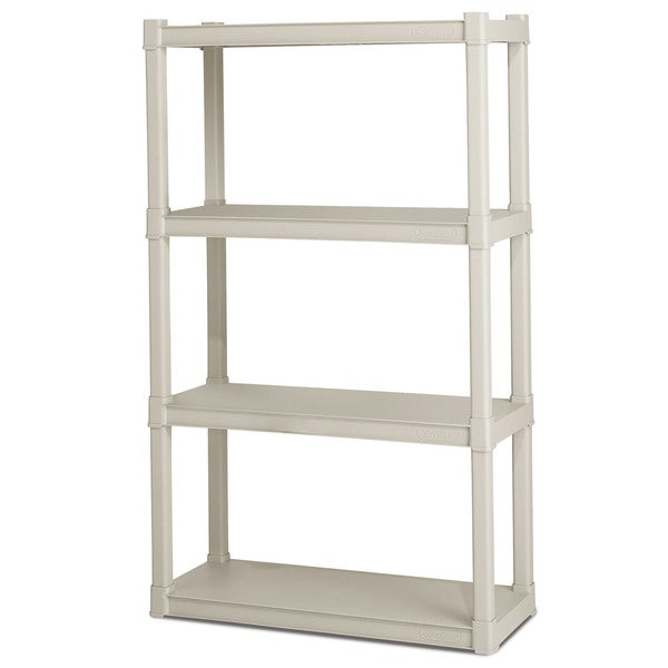 Sterilite 01648501 4 Shelf Shelving Units