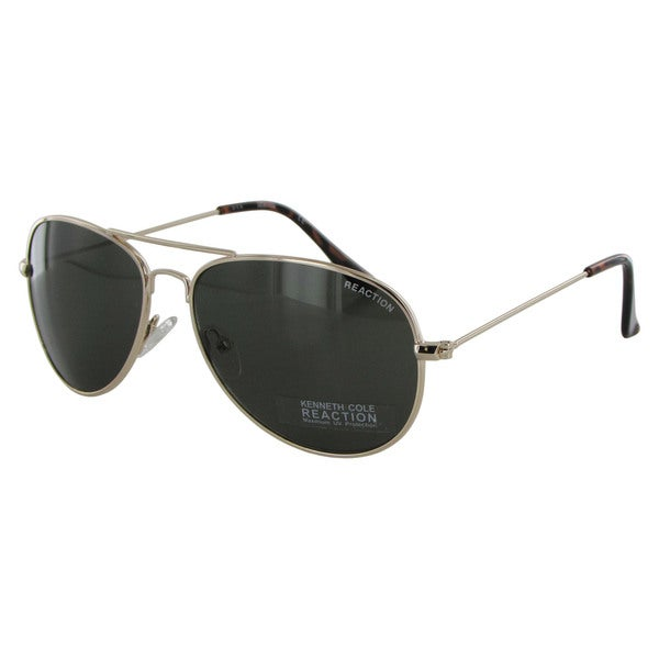 Kenneth Cole Reaction Womens KC1248 Metal Aviator Sunglasses