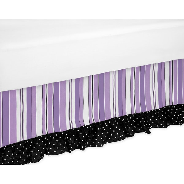 Sweet Jojo Designs Kaylee Toddler Bed Skirt