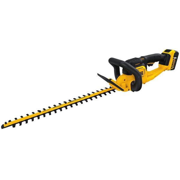 DEWALT 20-Volt Max Lithium-Ion Cordless Hedge Trimmer
