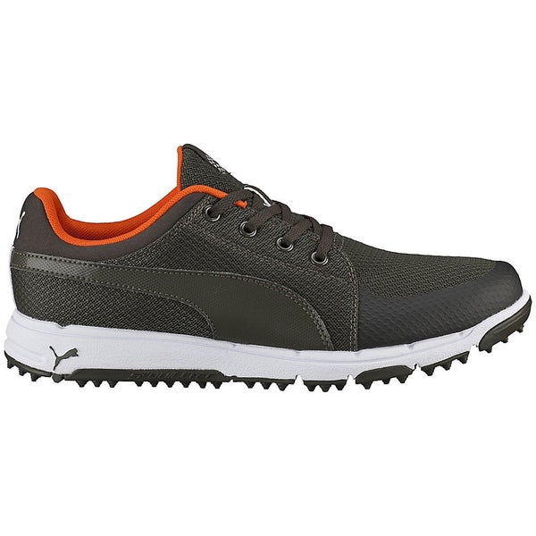 PUMA Grip Sport Golf Shoes 2016 Forest Night/Vibrant Orange