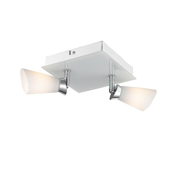 Golden Lighting Iberlamp Opera Flush-mount 2-light Spotlight