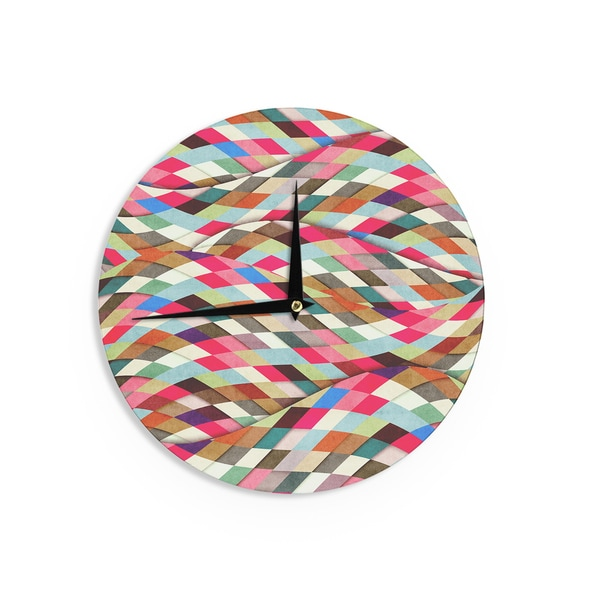 KESS InHouseDanny Ivan 'Adored' Art Object Wall Clock