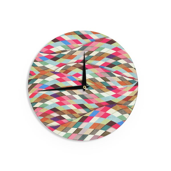 KESS InHouseDanny Ivan 'Adored' Art Object Wall Clock