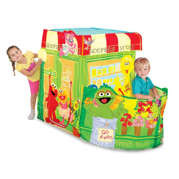 Playhut Unisex Kids' 'Sesame Street' Hoopers Store Tent