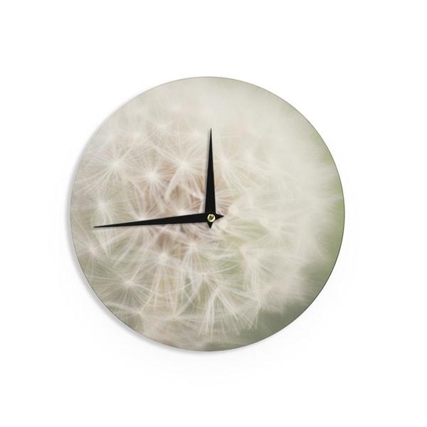 KESS InHouseCatherine McDonald 'Dandelion' Wall Clock
